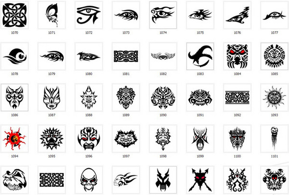 Product picture Collection of over 900 Tattoo Designs and patterns